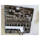Craftsman socket set metric and standard.