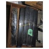 Box full of misc. welding rods