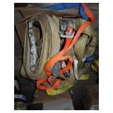 Assortment of ratchet straps