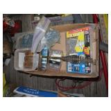Grease gun, miscellaneous screws, light roofing