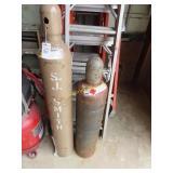 S. J. Smith Welding oxygen and acetylene tank