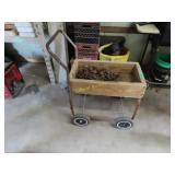 Miscellaneous hardware on cart
