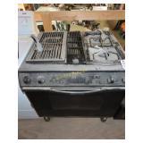 Jenn-Air gas stove