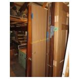 Large assortment of wooden doors including 30 by