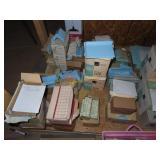 Large assortment of antique vintage tiling,