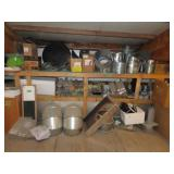 Roof vents, stovepipe, miscellaneous pipe, small