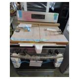 GE stainless gas stove