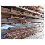 Assortment of wood trim