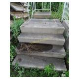 """Fiberglass stairs 32"""" tall"""
