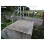 Fiberglass stairs w/rail