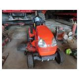 Kubota T2380 riding lawn mower Kohler 23