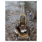 Hahn push mower