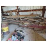 large assortment of lumber some vintage buyer