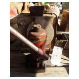 small Jack and vintage moisture tester