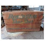 vintage Remington Sure Shot wood box