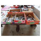 5 boxes on miscellaneous tools including channel