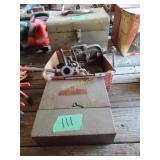 Black & Decker circular saw, conduit tools and