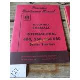 Preventive maintenance manual McCormick Farmall