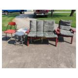 Patio chairs and items