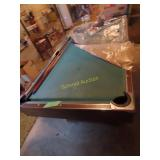 pool table approximate playing surface of 48