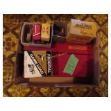 2 gun cleaning kits and shotgun shells