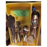 kitchen eating utensils