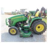 2005 John Deere 3320 compact hydro 4x4 tractor,