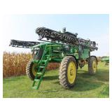 2011 John Deere 4730 high clearance sprayer, 90ft