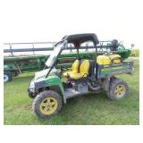 2011 John Deere 825i XUV 4x4, side by side 4,483
