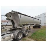2008 Mac Simizer frameless dump trailer, roll