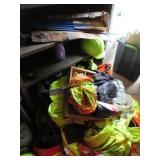 Hard hats, safety vests, gloves, belts and more
