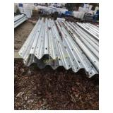"13 ft 6"" Thrie beam panels & approximately 6"