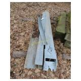 Miscellaneous guardrail posts and blocks
