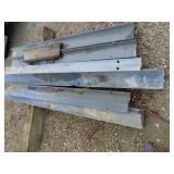 Used guardrail posts
