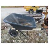 plastic wheel barrel
