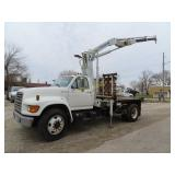 1995 Ford truck 141,363 miles,
