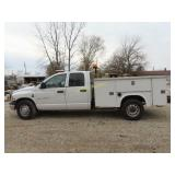 2004 Dodge Ram 3500 Quad Cab, utility truck,