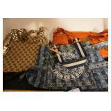 3 bags  LouisVitton, Gucci, Dolce & Gabbana