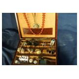 Nice box of lovely costume jewelry   mixed bag