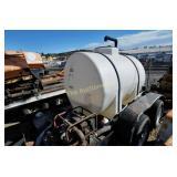 Waterdog 525 Gallon Water tank w/trailer pump