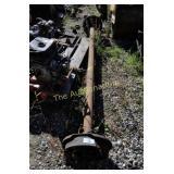 Axle unknown make &  model