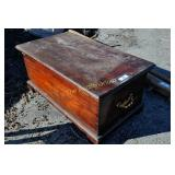 Antique / Vintage Hope chest and contents