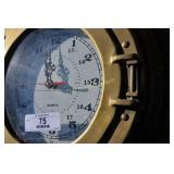 Nautical Port Hole Clock