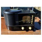 Briefcases clock Crossley Classic Radio