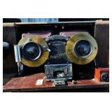 Antique WENO Stereographic Camera