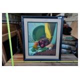 """Art: Genny Pabst """"Bean Pot"""" original oil framed"""