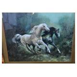 Art: R Fullerton Horses Equine