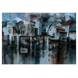 Art: Watercolor Cannery Row