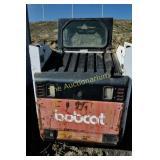 Bobcat Model 853H 4-wheel skid steer