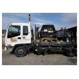 2001 Chevy W5500 Tiltmaster Hot Asphalt Truck